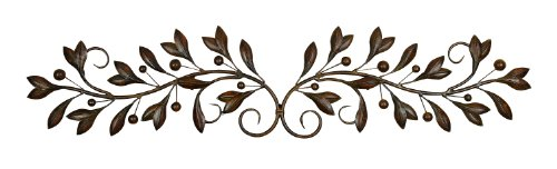 Deco 79 Metal Wall Decor, 48-Inch by (Iron Art)