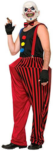 Forum Novelties Men's Twisted Clown Costume