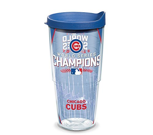 Tervis Mlb Chicago Cubs World Championship 24 Oz  Insulated Cooler