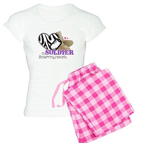 CafePress Zebra1 Womens Novelty Cotton Pajama Set, Comfortable PJ Sleepwear