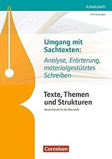 Abitur Training Fosbos Deutsch Sachtextanalyse Klaus Meyer