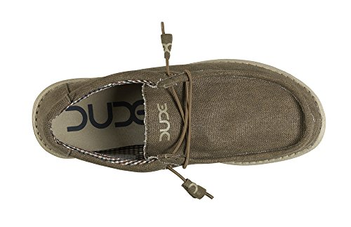 Hey Dude Mens Wally L Shoes Nut Vegan