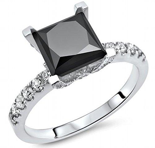 1.4 Ct Princess Diamond - 5