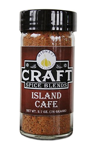 Island Cafe - Craft Spice Blends - Caribbean Jerk Seasoning featuring Roasted