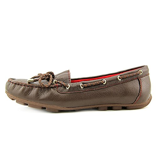 Driving Brown For White Surf Flats Size Great Mountain Womens on Moccasin Leather Slip Loafers Shoes RqTOwq