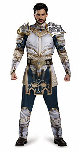 Disguise Men's Plus Size Warcraft King Llane Muscle Costume, Multi, XX-Large -