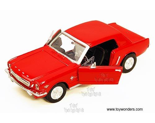 yiokledeesom 73273AC/R 1964.5 Ford lh19y95ua7 Mustang Hard Top by Showcasts 1/24 748o49doc Scale diecast Model car Wholesale 73273AC/BK car Model dpaka23 73273AC/R Motor Max - 1964 1/2 Ford Mus