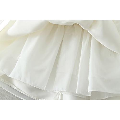 94a270a99 Happy Cherry Bebés Niñas Vestido de Tutú Princesa Traje de Fiesta Formal  Elegante para Boda Cumpleaños
