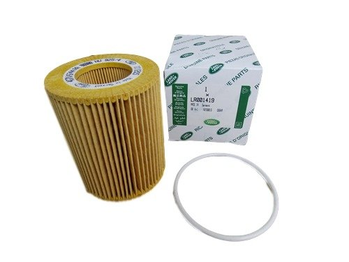 Genuine LAND ROVER OIL FILTER LR2 LR001419 by Land Rover