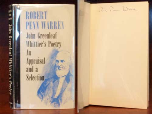 john-greenleaf-whittiers-poetry-an-appraisal-and-a-selection