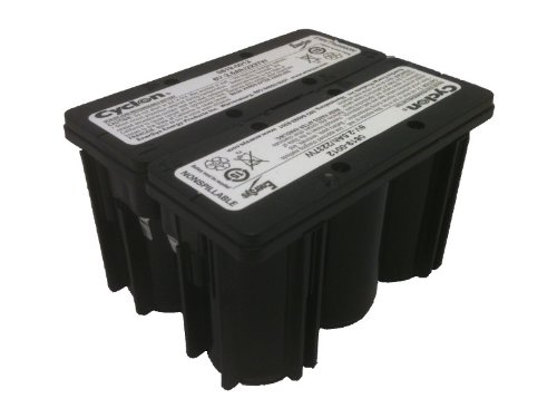 Enersys (Hawker) Cyclon 0819-0020 D-Cell 12 Volt/2.5 Amp Hour Sealed Lead Acid Battery by Hawker Enersys Cyclon