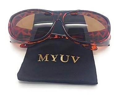 MyUV Wear Over Prescription Glasses Fit Over Sunglass