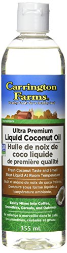 Carrington Farms Ultra Premium Liquid Coconut Cooking Oil, 340g