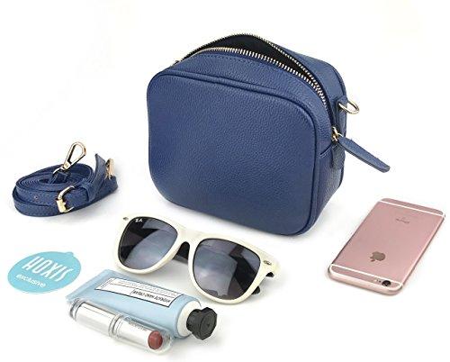 Bag Boxy Black Shoulder Body Cross Women's Small Handbag Purse wAqHS7