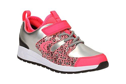 Clarks  Adven Jump Inf, Chaussures de trail pour fille gris gris