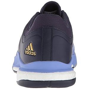 adidas Women's Crazyflight X W Volleyball Shoe, chalk Purple/Metallic Gold/Noble Ink, 8.5 M US