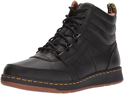 Dr Derry Black Boots Leather Mens Martens PS7PqAZ