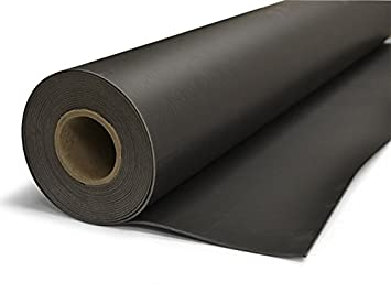 TMS Mass Loaded Vinyl, 4' x 25' (100 sf) 1 Lb MLV Soundproofing Barrier   Highest Quality! Made in the USA