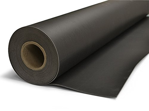 TMS Mass Loaded Vinyl, 4' x 25' (100 sf) 1 Lb MLV Soundproofing Barrier. Highest Quality! Made in the USA