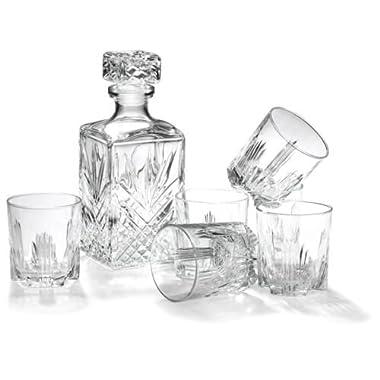 Bormioli Rocco Selecta 7-Piece Whiskey Gift Set, New