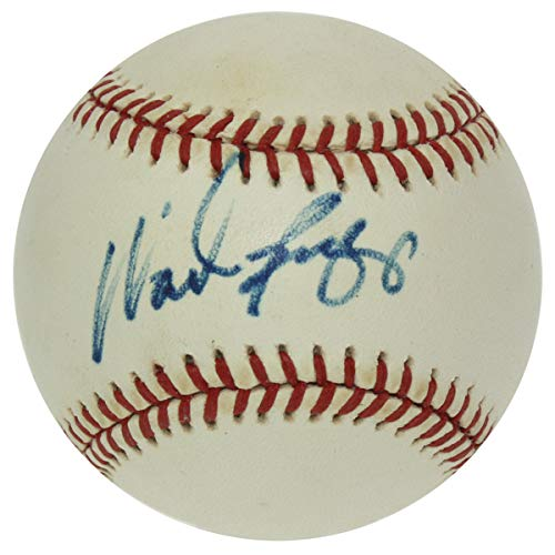 - Wade Boggs Autographed Official American League Baseball - Authentic Signed Autograph