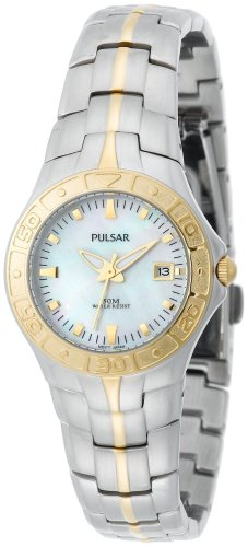 Pulsar Women's PXT682 Dress Sport Two-Tone Watch