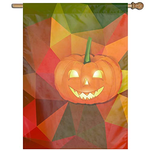 Dominic Philemon Seasonal Garden Flag 27 x 37 Inch Halloween Background Home Flag