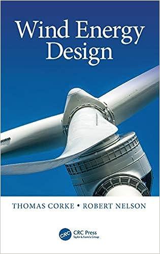 Wind Energy Design Corke Thomas Nelson Robert 9781138096028 Amazon Com Books