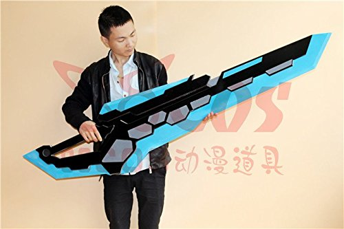 Hyperdimension Neptunia game Noire weapon Sword PVC Cosplay Prop (Buy Cosplay Weapons)