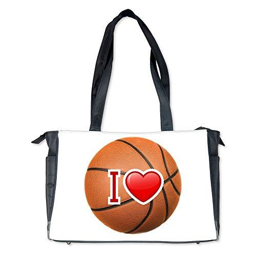 Diaper Bag I Love Basketball