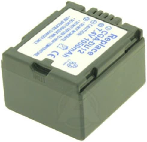 Bater/ía para Panasonic CGA-DU12 VW-VBD120 AccuCell 1050 mAh