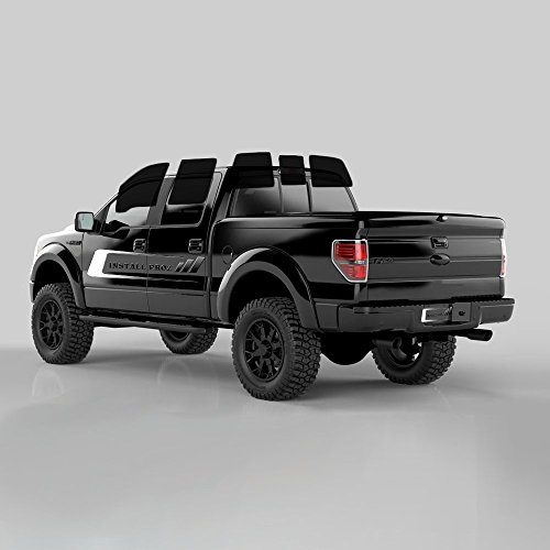 Tint Kits (Computer Cut) For All Four Door Trucks (Full Tint)