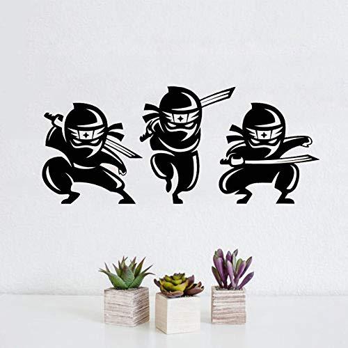 Tatuajes de pared de Dibujos Animados Lindos Ninjas ...