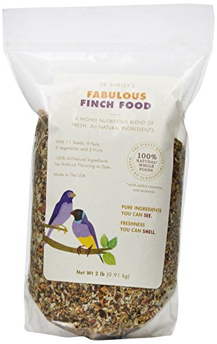Dr. Harvey'S Fabulous Blend Natural Food For Finches, 2-Pound Bag