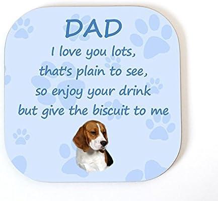 Beagle Dog Coaster No 3 by Starprint
