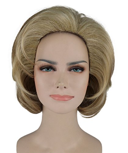 Short Blonde US Female Politician Costume Wig BAHW-246 (Parade Quality Costume)