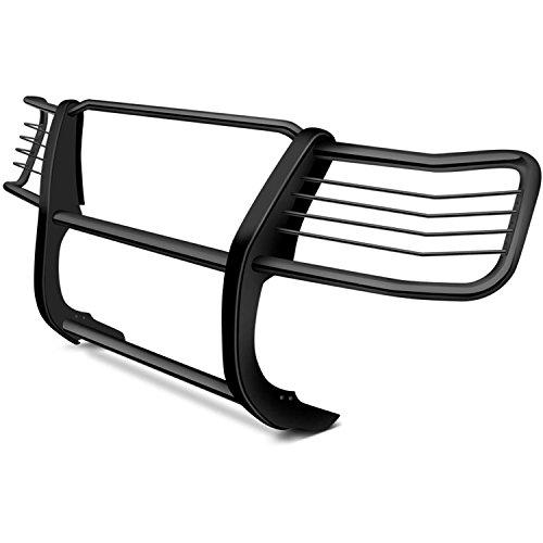 (Steelcraft 55070 Black 1 Piece Grille Guard for Honda Ridgeline)