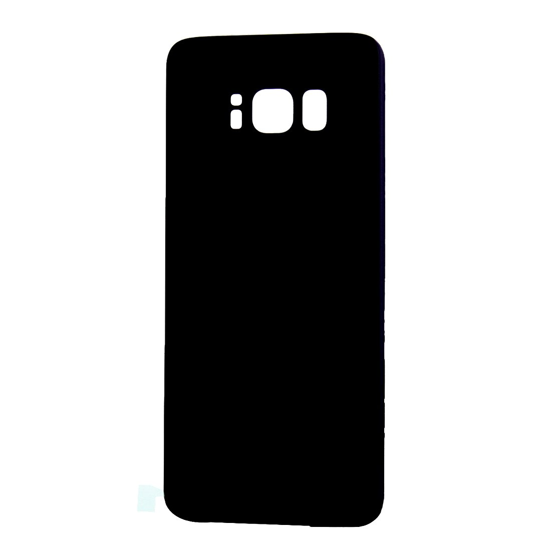 Wangl Mobile Phone Back Cover Battery Back Cover for Galaxy S8 (Midnight Black) Back Cover (Color : Color1) by Wangl