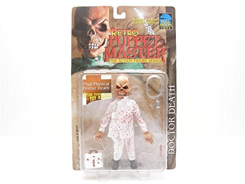 Retro Puppet Master Final Physical Doctor Death Lee's Action Figure News and Toys Review Exclusive Action Figure ()