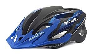 Prowell F59R Vipor F59R - Casco de ciclismo Edge azul negro Talla: M (55-61 cm)