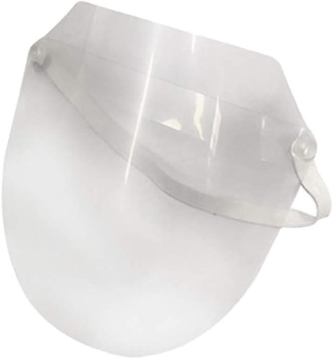 Exceart 2Pcs Protector Facial Máscara Protectora Transparente Máscara de Cocina Anti-Aceite Splash Protector Protector Protector a Prueba de Viento a Prueba de Polvo Protector Facial Completo