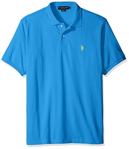 U.S. Polo Assn. Men's Classic Polo Shirt, Teal Blue, M