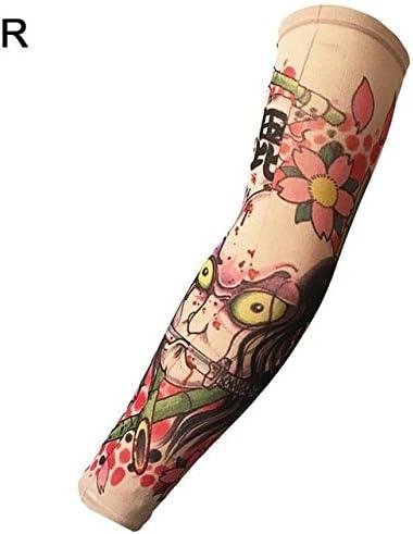 Falso tatuaje temporal mangas tatuajes completo largo ...