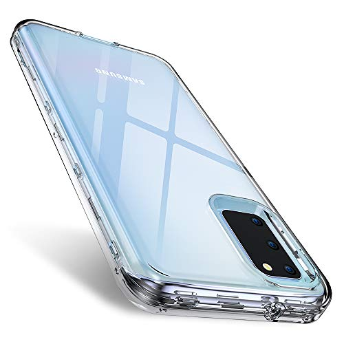 FLOVEME Samsung Galaxy S20 Case 6.2 inch 2020 3 in 1 Hybrid Duty Shockproof Protection Clear Samsung S20 Cases Armor Tough Basic Cell Phone Case Bumper Cases Cover