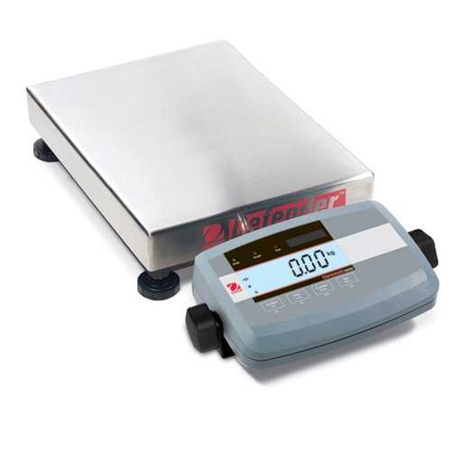 Low Profile Bench Scale (Ohaus Defender 304 Stainless Steel NTEP Certified Low Profile Bench Scale, 30000g x 5g)