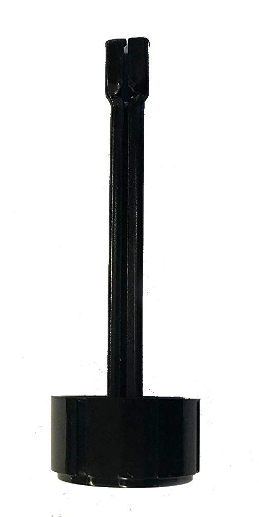 RCK Sales Fireplace Gas Log Safety Pilot Gas Valve Black Knob & Four Inch Extension Handle by RCK Sales
