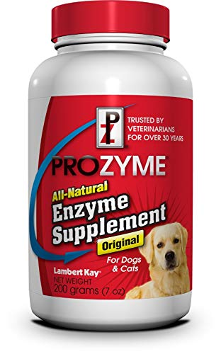 Prozyme All-Natural Enzyme Supplement for Dogs & Cats 200 Gram