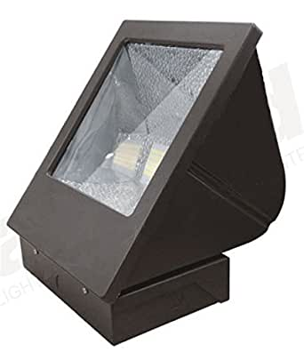80 watt outdoor flood light wall pack replaces standard 400 watt metal halide 7200 lumen. Black Bedroom Furniture Sets. Home Design Ideas
