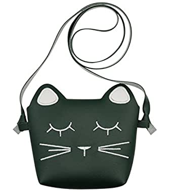 Kids Purse Cute Cat Crossbody Bag Girls Coin Wallet Mini Shoulder Handbag