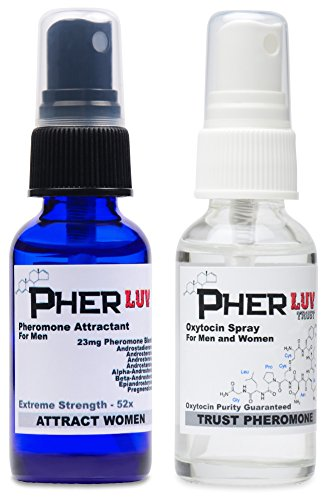 (Oxytocin Spray and Pheromone Cologne for Men Attract Women Complete Pack)
